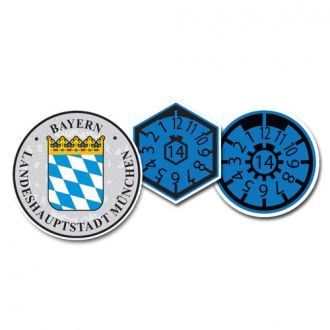 2014 Bayern Munich Seal Set (Home of BMW)  - with Date & Pollution Seals