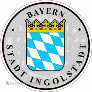 Bayern - Inglostadt - Germany Seal Sticker