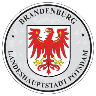 Brandenburg - Germany Seal Sticker - License Plate Decal