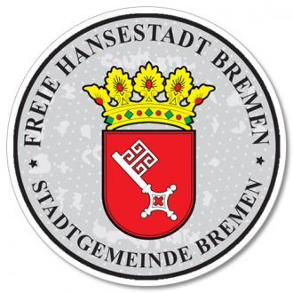Bremen - German License Plate Registration Seal