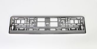 Chrome Mounting Frame - European License Plate Holder