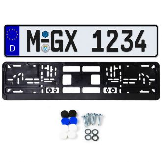 German License Plate Package
