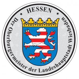Hessen - Germany Seal Sticker - License Plate Decal