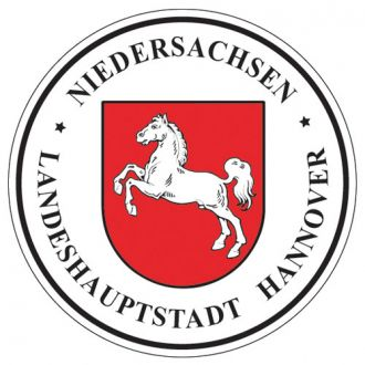 Niedersachsen - Germany Seal Sticker - License Plate Decal