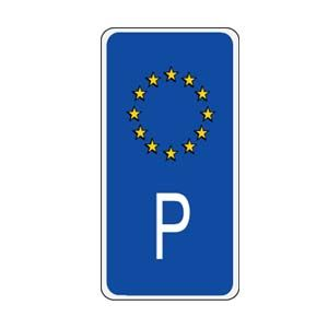 Portugal European Union Sidebar Decal