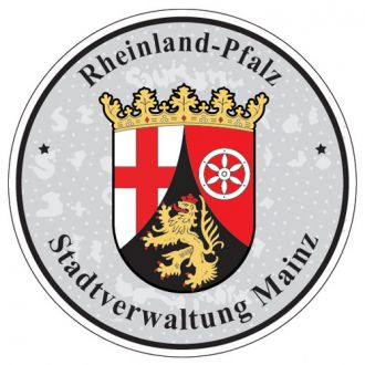 Rheinland Pfalz - Germany Seal Sticker - License Plate Decal
