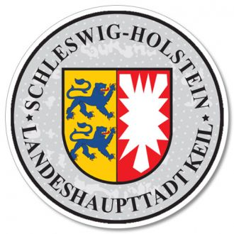 Schleswig Holstein - German License Plate Registration Seal