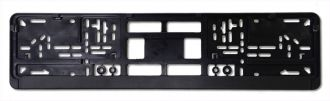 Standard Black Mounting Frame - European Plate Holder