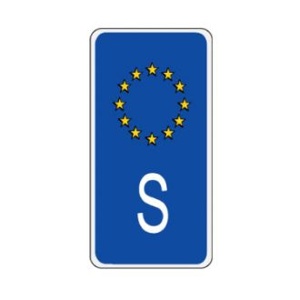 Sweden European Union Sidebar Decal