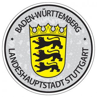 Baden Wurtenberg - Germany Seal Sticker - License Plate Decal