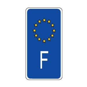 France European Union Sidebar Decal