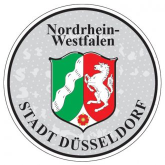 Nordrhein Westfalen - Germany Seal Sticker - License Plate Decal