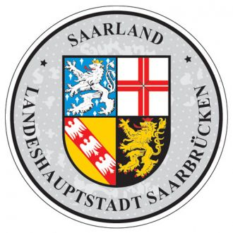 Saarland - Germany Seal Sticker - License Plate Decal