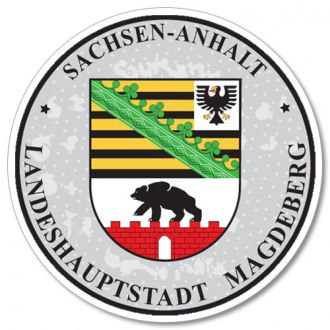 Sachsen - Anhalt - German License Plate Registration Seal